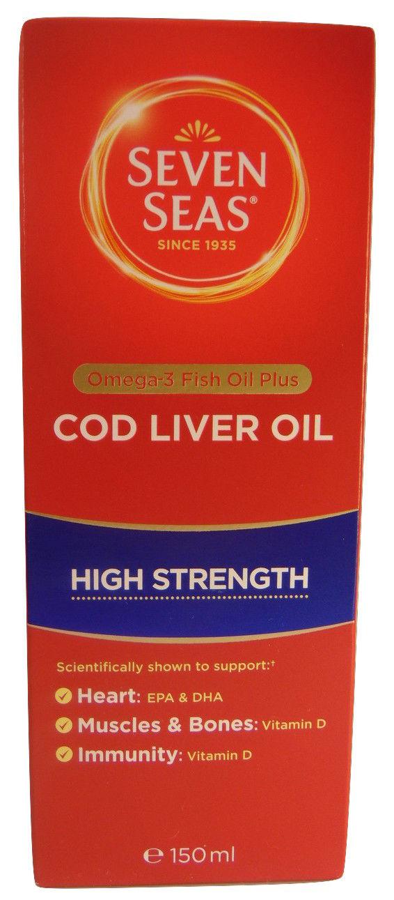 Seven seas cod liver oil high strength omega 3 fish oil for Do fish oil pills expire
